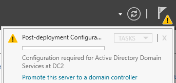 Promote to Domain Controller